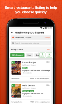 EazyDiner - Best Deals at The Best Restaurants pc screenshot 2