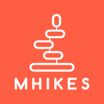 Mhikes, geo-guided hikes for pc logo