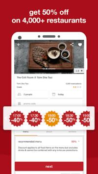 eatigo – discounted restaurant reservations pc screenshot 1