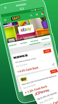Ebates: Cash Back Shopping, Coupons & Promo Codes pc screenshot 1