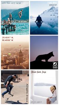 Auto Stamper: Timestamp Camera App for Photos 2018 pc screenshot 1