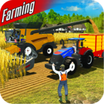 Real Forage Tractor Farming Simulator 2018 Game for pc logo