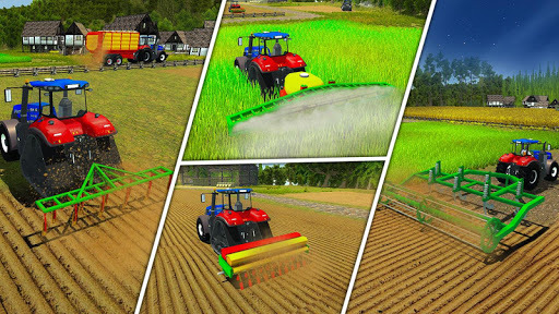 Real Forage Tractor Farming Simulator 2018 Game pc screenshot 1
