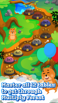 Times Tables and Friends-1 x 12 multiplication fun pc screenshot 2