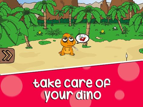 Virtual Pet: Dinosaur life pc screenshot 1