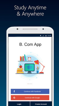 B.Com Notes, Videos- All Bcom Regular Subjects App pc screenshot 1