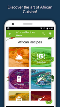 African Recipes : All Africa Food Offline Free pc screenshot 1