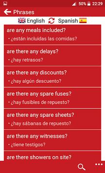 Spanish - English pc screenshot 1