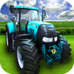 Big Farming Tractor Drive 3D-18 icon