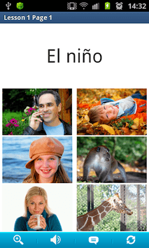 Spanish in a Month Free pc screenshot 1