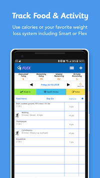 iTrackBites: Smart Weight Loss pc screenshot 1