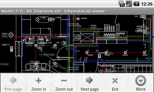 SchemataCAD viewer DWG/DXF pc screenshot 2