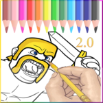 Coloring for Clash of Clans icon