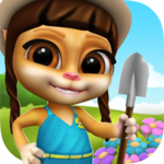 Emma the Cat Gardener: My Virtual Pet for pc logo