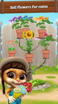 Emma the Cat Gardener: My Virtual Pet pc screenshot 1