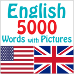 English 5000 Words with Pictures for pc logo