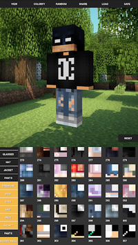 Custom Skin Creator For Minecraft pc screenshot 1