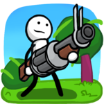 One Gun: Stickman for pc logo