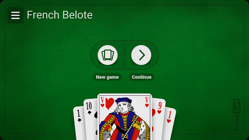 French Belote - Free pc screenshot 1