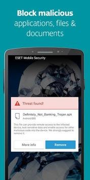 Mobile Security & Antivirus pc screenshot 1