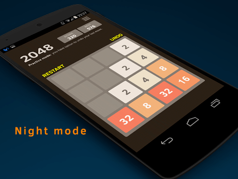 2048 Number puzzle game pc screenshot 2