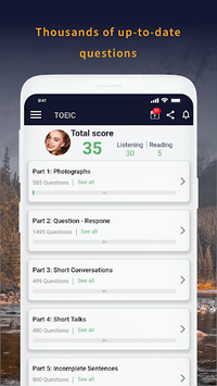 TOEIC Test Pro 2018 pc screenshot 1