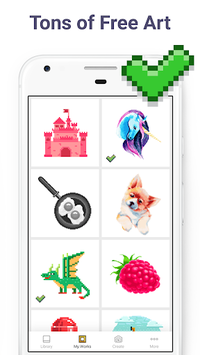 Pixel Art: Color by Number Game pc screenshot 2