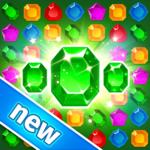 Treasure Hunters: free match3 gems Merry Christmas icon