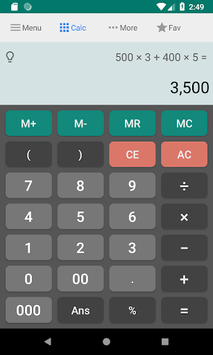 All-in-one Calculator Free pc screenshot 1