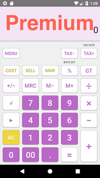 Calculator App Free - Similar to Casio Calculator pc screenshot 1