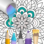 100+ Mandala coloring pages icon