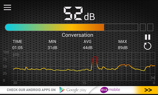 Sound Meter pc screenshot 1