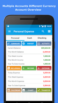 Expense Manager pc screenshot 1