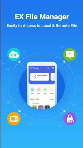 EZ File Explorer - File Manager Android 2020 PC screenshot 1