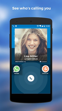 Caller ID, Calls, Phone Book & Contacts: Eyecon pc screenshot 1