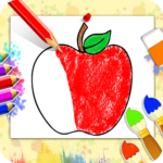 Fruits Coloring Book - Kids Coloring Book icon