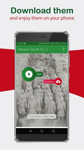 Weapon Sound effects amazing ringtones for phone. pc screenshot 1