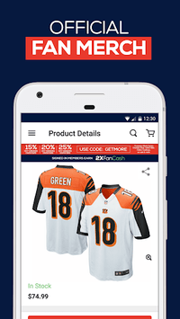 Fanatics: Shop NFL, NBA, NHL & College Sports Gear pc screenshot 2