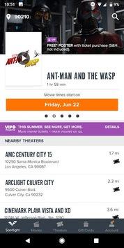 Fandango Movies - Times + Tickets pc screenshot 1