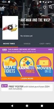 Fandango Movies - Times + Tickets pc screenshot 2
