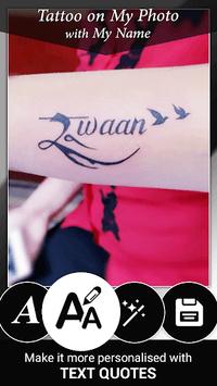 Tattoo Name On My Photo Editor pc screenshot 1