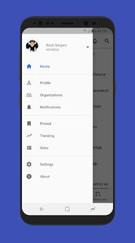 FastHub for GitHub pc screenshot 1