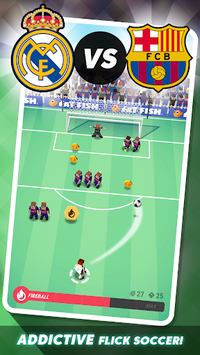Tiny Striker LaLiga 2019 - Soccer Game pc screenshot 1