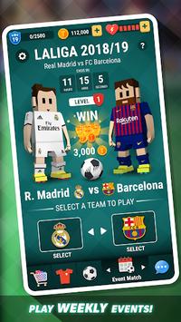 Tiny Striker LaLiga 2019 - Soccer Game pc screenshot 2