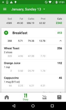 Calorie Counter by FatSecret pc screenshot 1