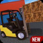 Industrial Forklift Simulator for pc logo