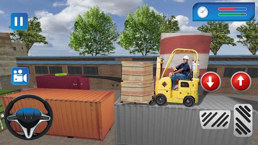 Industrial Forklift Simulator PC screenshot 1