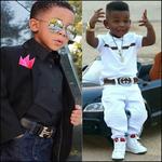 Black Boy Kids Fashion Idea icon