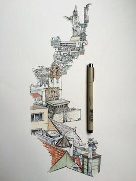 Cool Art Drawing Ideas pc screenshot 2