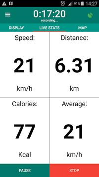 Bike Computer - GPS Cycling Tracker pc screenshot 2